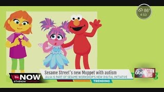 Sesame Street's new muppet with autism