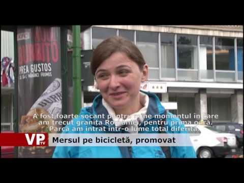 Mersul pe bicicletă, promovat