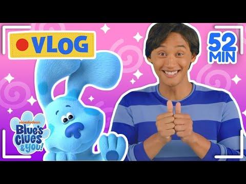 Josh & Blue's Vlogs Ep 1-10! Compilation   Blue's Clues & You!