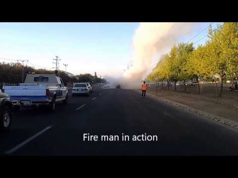 car & vehicle win / fail compilation boom fire expolsion police fire truck