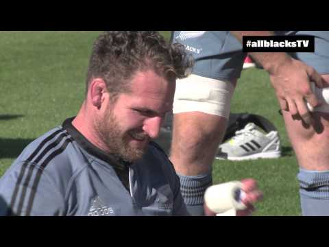 Training - Hear from the All Blacks as they have their first practice in Chicago. #TeamAllBlacks #USAvAllBlacks #USAvNZL.