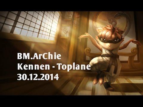Stream cá nhân BM.Archie – Kennen – Toplane 2014 [30.12.2014]