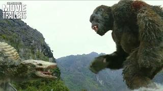 Kong Skull Island Clip | The King Kong Battles