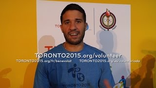 Toronto Raptor Greivis Vasquez Says Sign Up Now To Be A TO2015 Volunteer