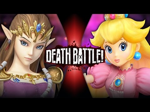 DEATH BATTLE! - Zelda VS Peach Video