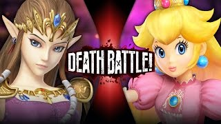 Zelda VS Peach | DEATH BATTLE!