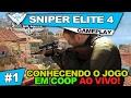 Sniper Elite 4 Coop 1 Conhecendo O Jogo Em Coop Ao Vivo