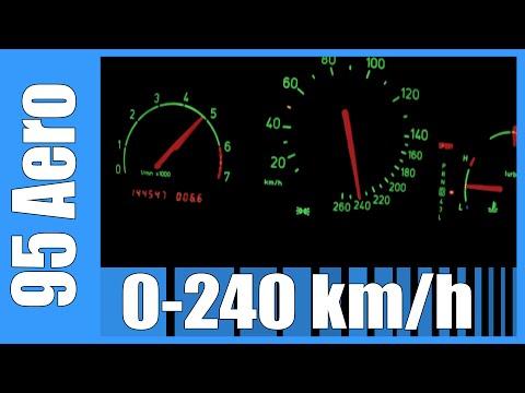 incredibile velocità - saab 9-5 2.3t aero