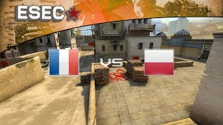 Poligne France  City pictures : CS:GO - ESEC 2014 - Groupe D : France vs Pologne (D2)