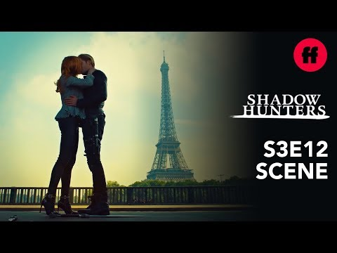 Shadowhunters Season 3, Episode 12 | Clace Kiss By The Eiffel Tower | Freeform