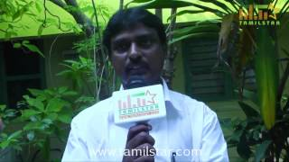 Producer Gunasekaran at Panduvam Movie Team Interview