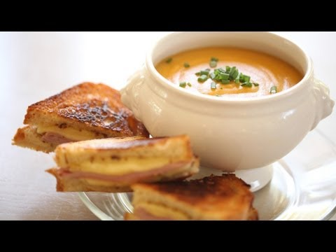 Beth's Grilled Cheese & Soup Recipes: Full Menu (Sandwiches Mozzarella Cheddar Brie) || Kin Eats