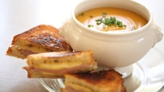 Beth's Grilled Cheese&Soup Recipes: Full Menu (Sandwiches Mozzarella Cheddar Brie) || KIN EATS