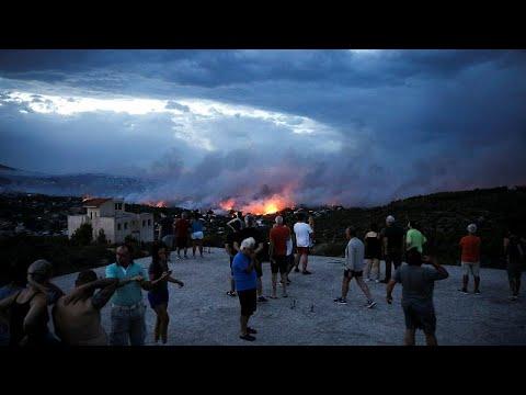 Εθνική τραγωδία: Στους 50 οι νεκροί από τις πυρκαγιές – Εντοπίστηκαν άλλοι 26 νεκροί…