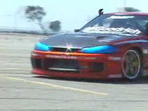Nissan Silvia Turbo Nissan Silvia Drifting Action