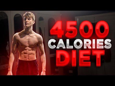 Full Day of Eating on a Bulk (4500 Calories) | Skinny Kid Bulking Up: EP-16