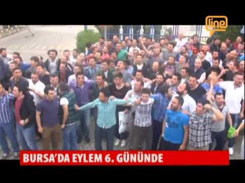 Bursa'da Eylem 6. Gününde  20 Mayıs 2015