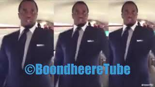 Puff Daddy dancing with Somali DhaantoTraditional music