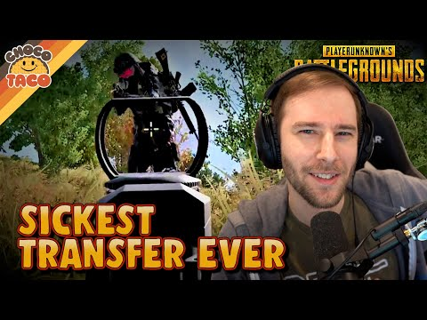 The Sickest Transfer of chocoTaco's Career ft. Swagger - PUBG Duos Gameplay