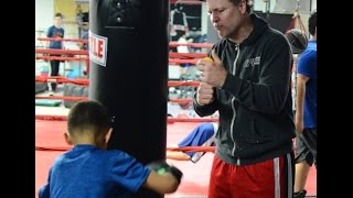 "Old School Boxing Gym in Agawam, Mass Welcomes Their Newest Trainer, ""Iceman"" John Scully."