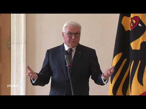 Frank-Walter Steinmeier zum Thema quotBedrohung von politisch Verantwortlichenquot am 10.07.19