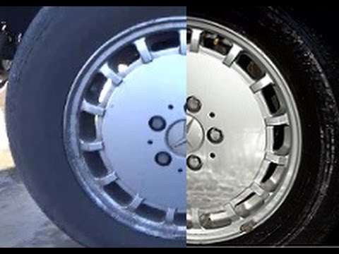 Cleaning Cars Wheel Acid Wheels Professional Degreaser DIY Car Restoration Tips Video