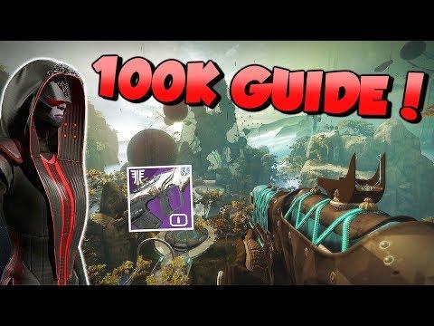 The Corrupted 100k High Score Guide! [Destiny 2 Forsaken] - смотреть