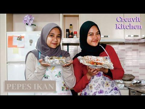 Pepes Ikan ala Nilam : Creavit Kitchen видео