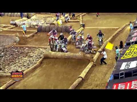 Hole Shot Crash at the Ontario Endurocross - WW #16