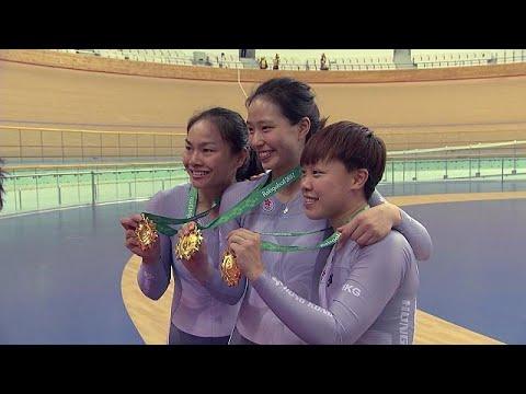 Ασγκαμπάτ: Δεύτερο χρυσό για τη Σάρα Λι στην ποδηλασία πίστας – sport