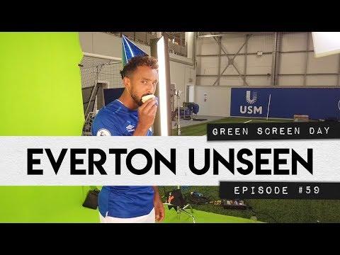 Video: EVERTON UNSEEN #59: GREEN SCREEN DAY!