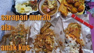 Video MUKBANG 6 SARAPAN INDONESIA TERBAIK MURAH BERGIZI DAN KENYANG MP3, 3GP, MP4, WEBM, AVI, FLV September 2018