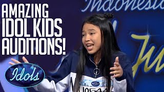 Video MOST POPULAR Indonesian Idol Junior Auditions! | Idols Global MP3, 3GP, MP4, WEBM, AVI, FLV Maret 2019
