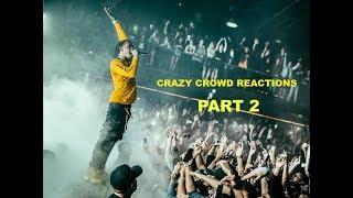 LIVE CONCERT CROWDS Compilation ft. ASAP Rocky, Travis Scott Post Malone Lil Pump XXXtentacion...