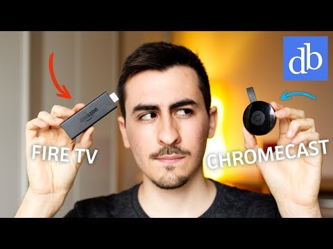 CHROMECAST VS FIRE TV BASIC EDITION: QUALE SCEGLIERE? Confronto da 39€! • Ridble