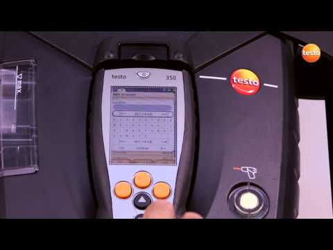 testo 350 Gas Analyser - Step 5 - How to Create New Customer
