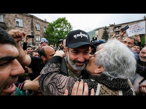 Armenischer Oppositionsführer Paschinjan im Interview