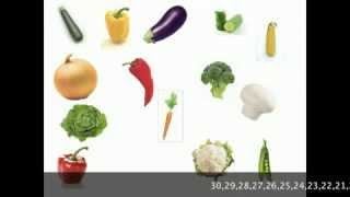 Vegetables Vocabulary Practice