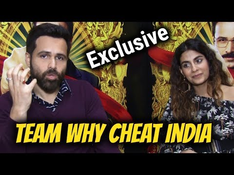 Exclusive Interview with Emraan Hashmi & Shreya Dhanwanthary for film Why Cheat India