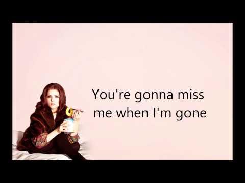 Youre gonna be lyrics