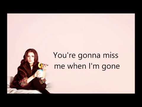 Anna Kendrick (Pitch Perfect)- Cup Song (When I'm Gone) | Lyrics