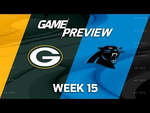 Video: Green Bay Packers vs. Carolina Panthers | NFL Week 15 Game Preview | Film Review