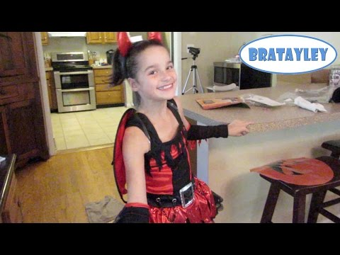 peek - Annie tries walking on her sprained ankle after 48 hours on crutches and then tries on her Halloween costume. Order your official Bratayley backpack and lunchbox now! http://bit.ly/Bratmerch...