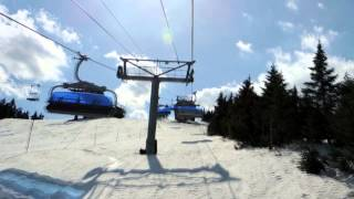 Fine Spring Skiing, Mount Snow Vermont April 12, 2014