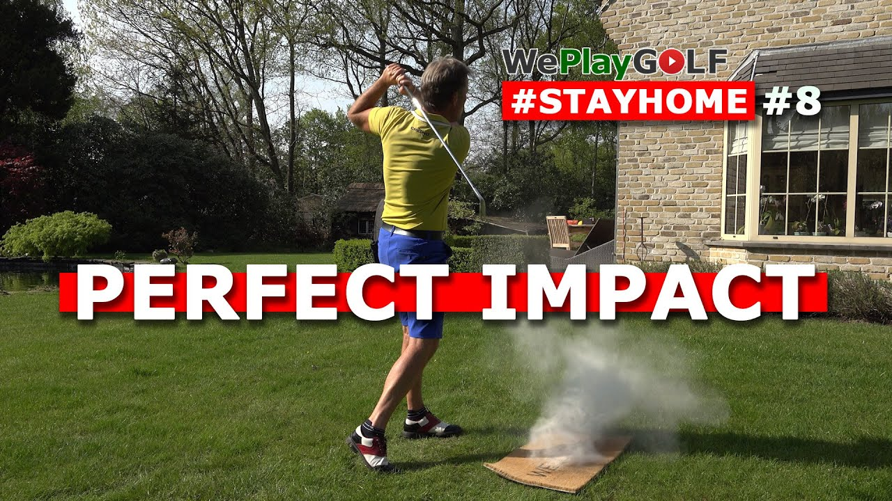 Perfect impact with  your IRONS? This is a GOOD drill for you!
