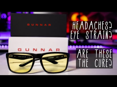 Do these REALLY stop Digital Eye Strain? GUNNAR glasses