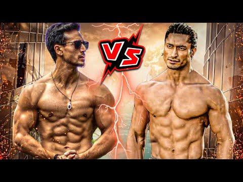 Tiger Shroff Vs Vidyut Jamwal Fight, Vidyut Jamwal Vs Tiger Shroff Fight, Comparison,BodyStunt,Dance