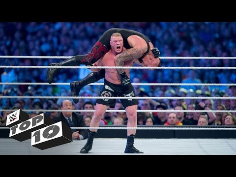 Video Brock Lesnar's most shocking F5s: WWE Top 10 download in MP3, 3GP, MP4, WEBM, AVI, FLV January 2017