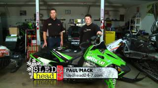 8. Sledhead 24/7 @ Speedwerx showing you some Horsepower upgrades for your Arctic Cat. Episode 5 Act 2