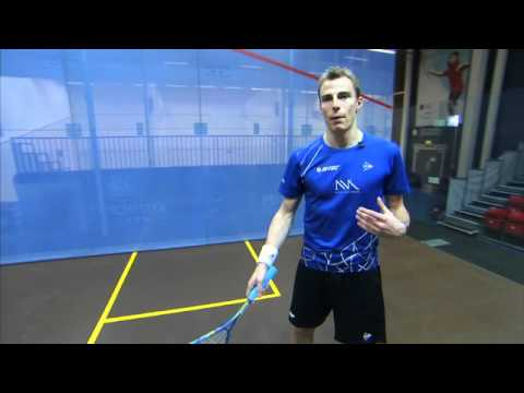 Nick Matthew Squash Coaching Tips Part 3 – Return of Serve